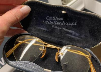Alte Brille von 1929