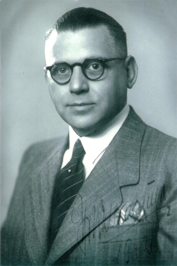 Portrait von Hanns Wollenhaupt